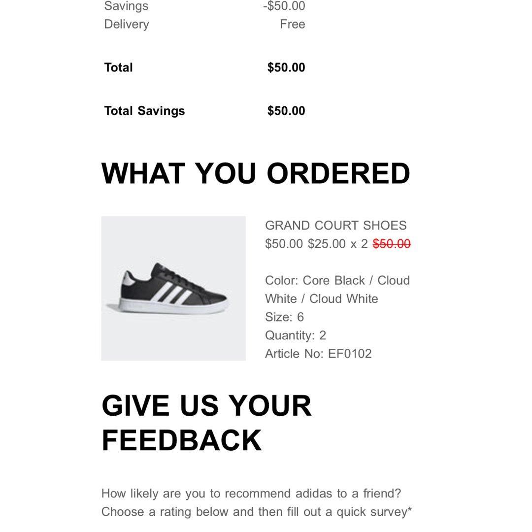 [晒单] Adidas 童鞋半价!