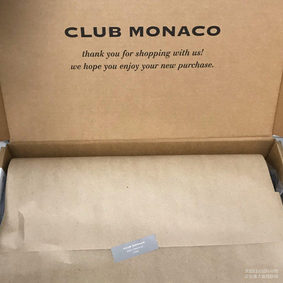 生日月@Club Monaco