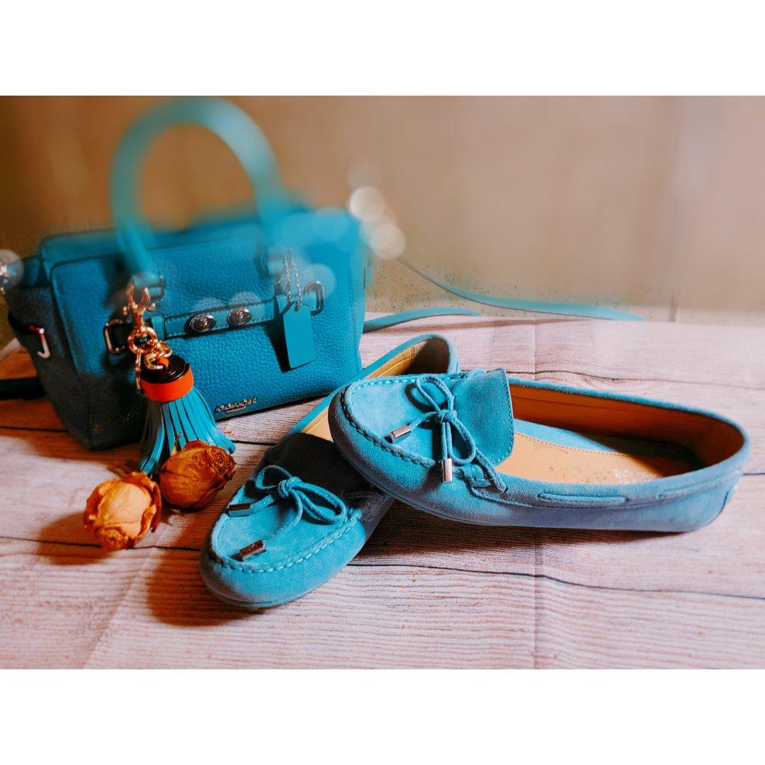 包包鞋子一个色1⃣️:蓝色系