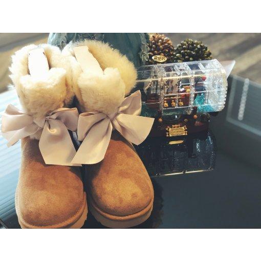 UGG closet sale 79刀入手蝴蝶结雪地靴