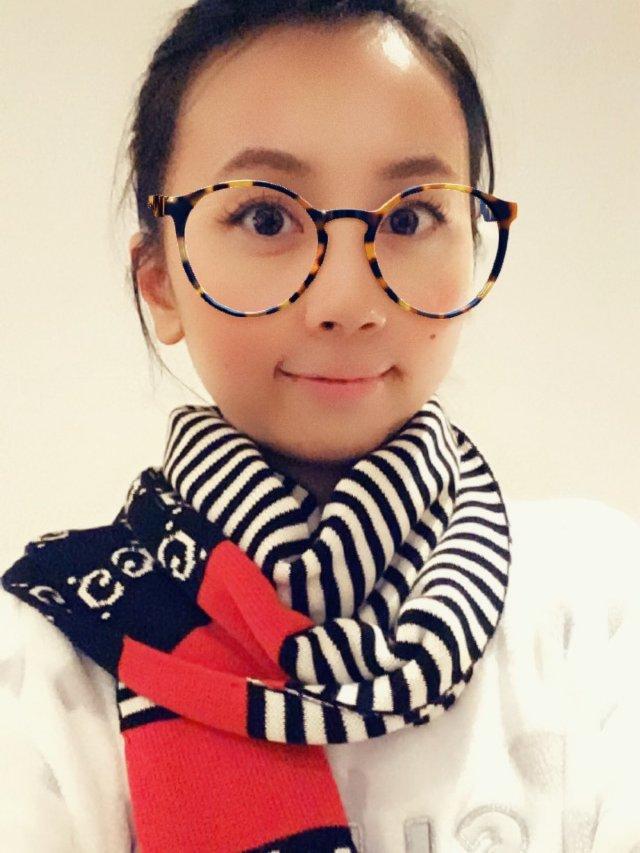 有圣诞气息的Gucci围巾🧣