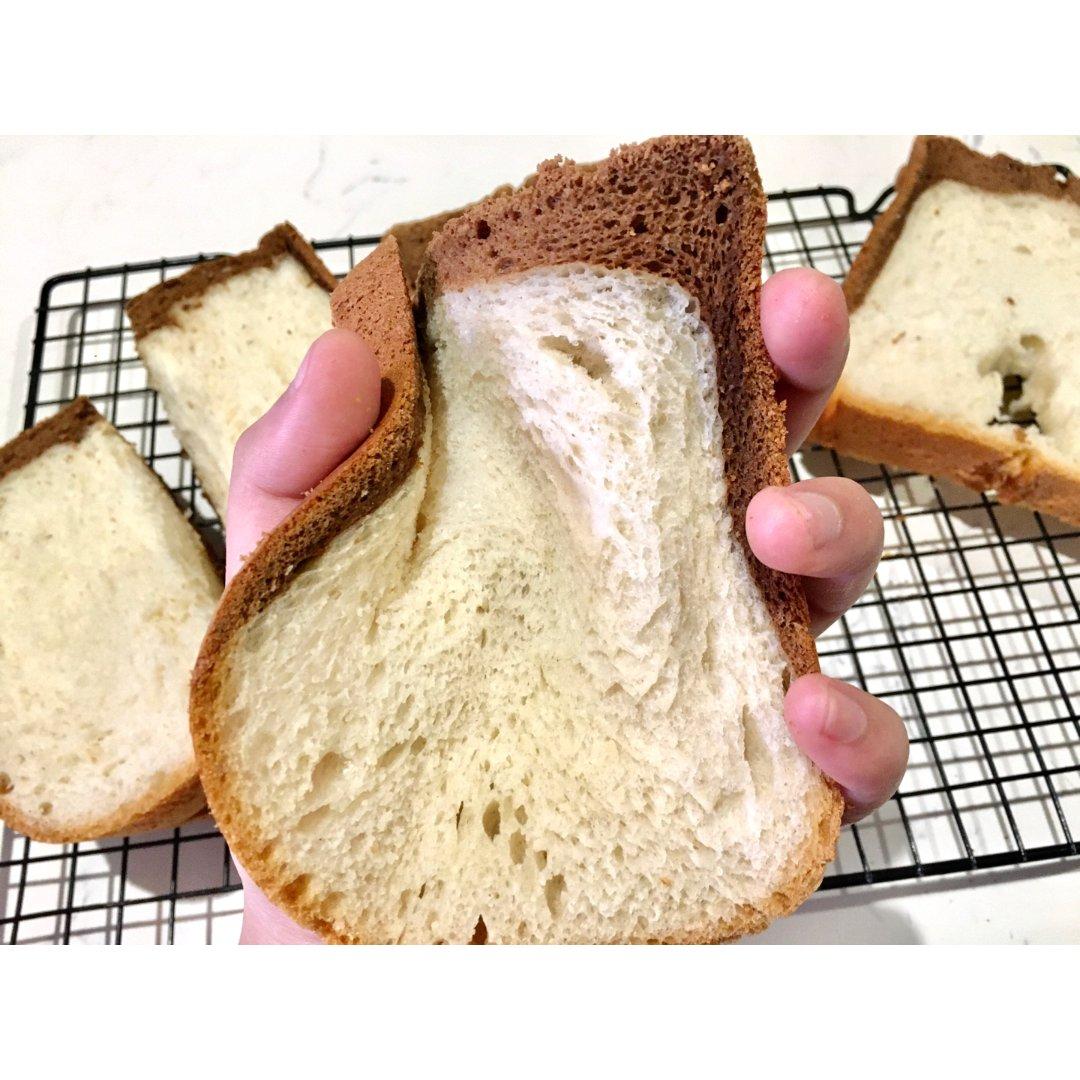 面包机食谱|波兰种超松软黑钻吐司🍞(可可...