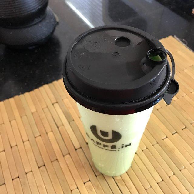 哈密瓜味儿的奶茶
