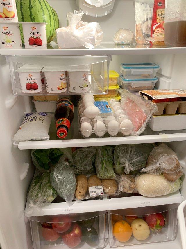 家中大/小冰箱囤貨