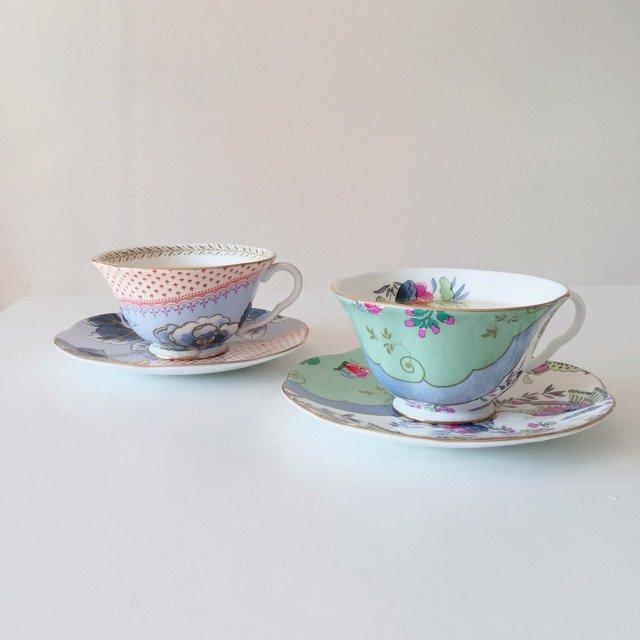 wedgwood的骨瓷茶具 买回来...