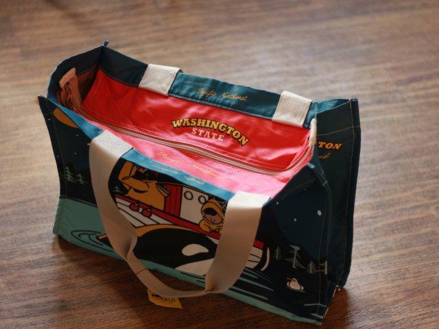 小众晒货:超萌帆布购物袋