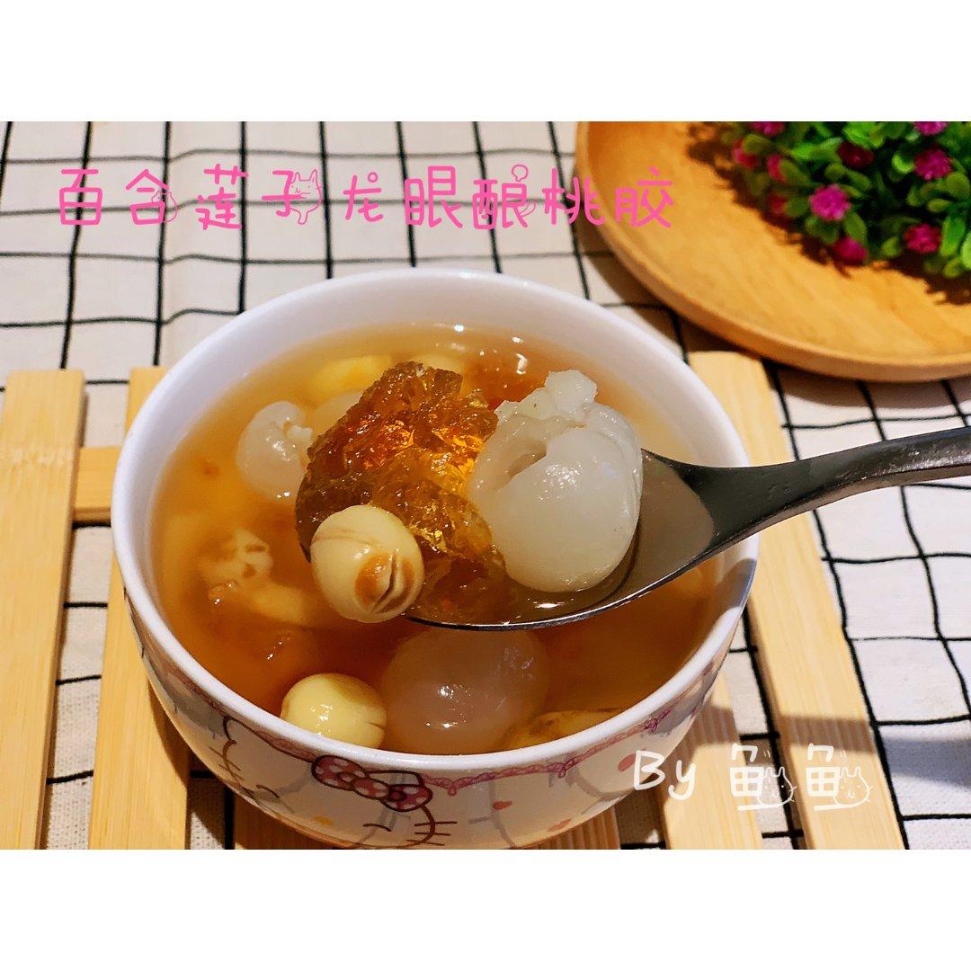 一胶两吃:桃胶汤水+桃胶糖水