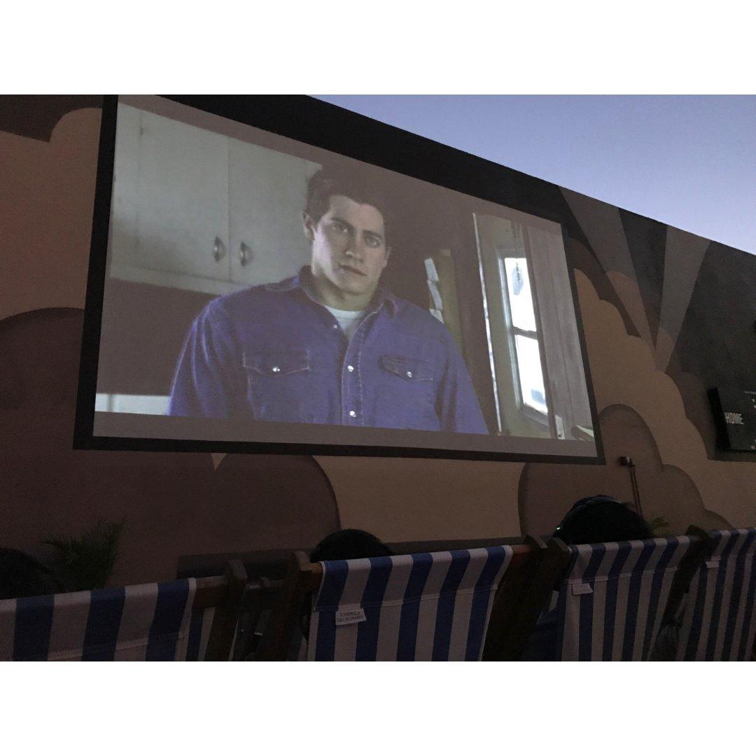 洛杉矶的rooftop cinem...