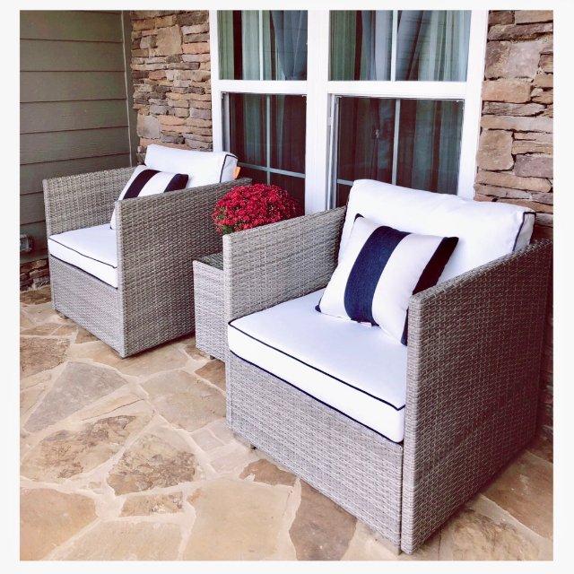美貌和舒适并存的藤椅,很喜欢!