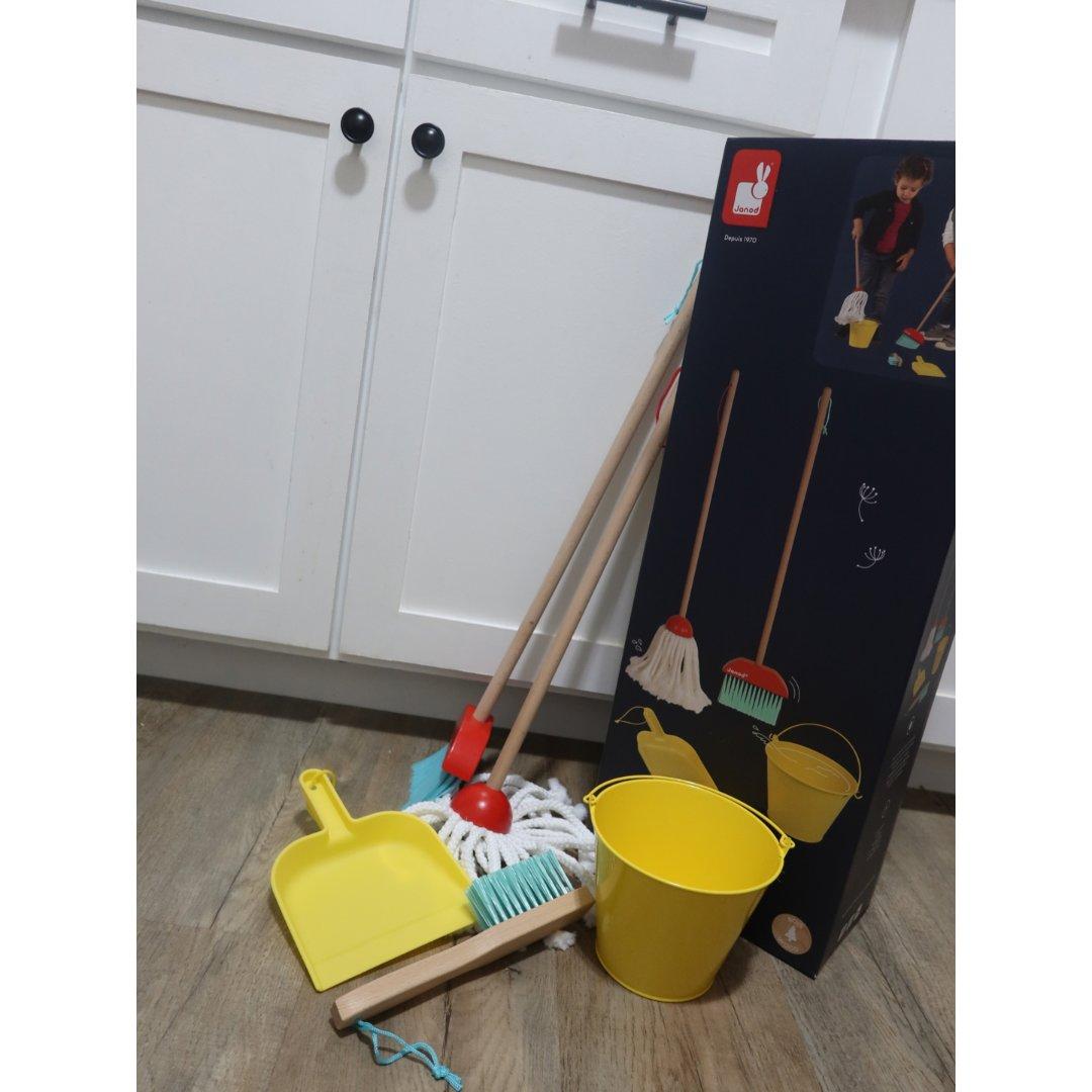 上半年购入|Janod的清洁套装玩具...