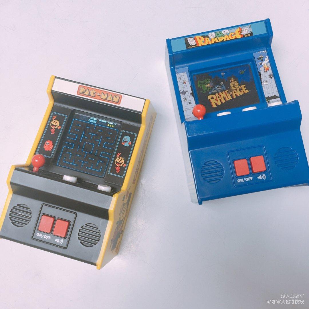 街机经典&Pac Man迷你街机游戏