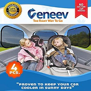 $12.91Car Sun Shade for Side and Rear Window (4 Pack)