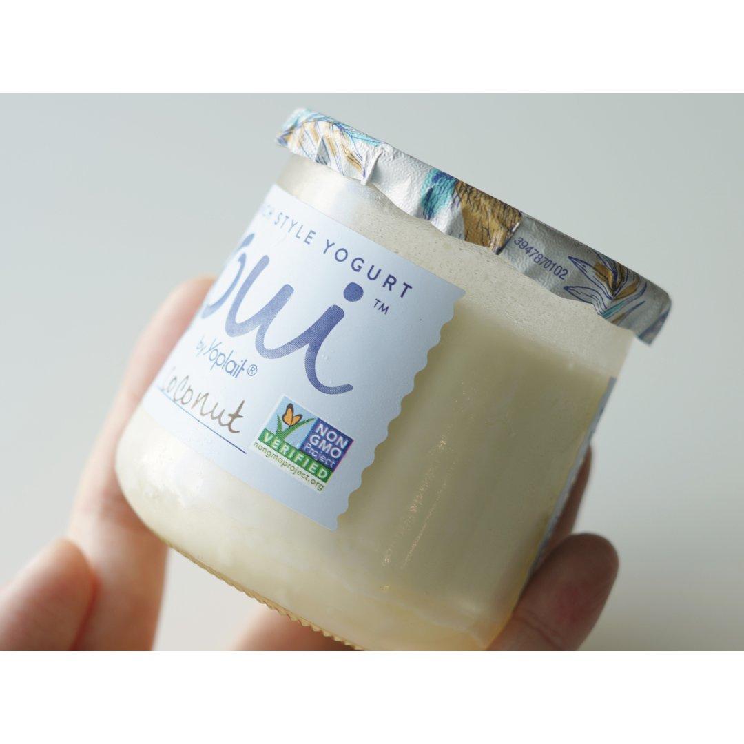 椰香满满的OUI法式酸奶|一口一口...