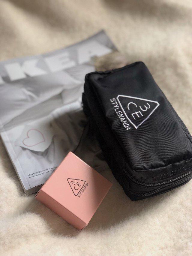 3CE化妆包1⃣️2⃣️