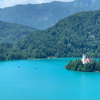 去年此时我在蓝蓝的斯洛维尼亚...