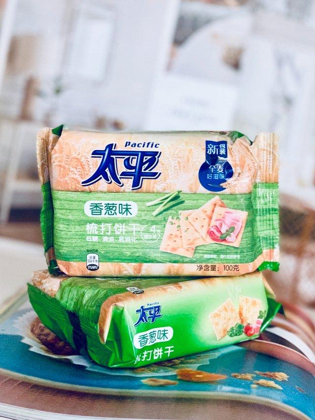 零食控 太平の梳打饼干(香葱味儿)