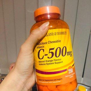 橙子味维C咀嚼片