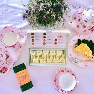 提高幸福感的草本茶@🍵Tea Forte 什锦茶