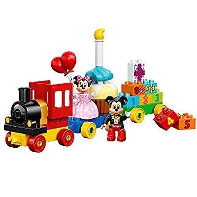 LEGO DUPLO系列 10597 米奇和米妮的生日火车积木套装 25块