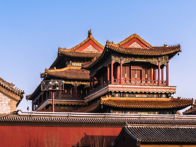 OOTD|在北京怎么能不拍红墙