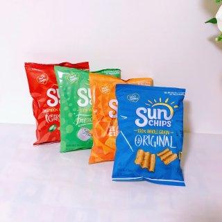薯片——我最喜欢吃Sun Chips!...