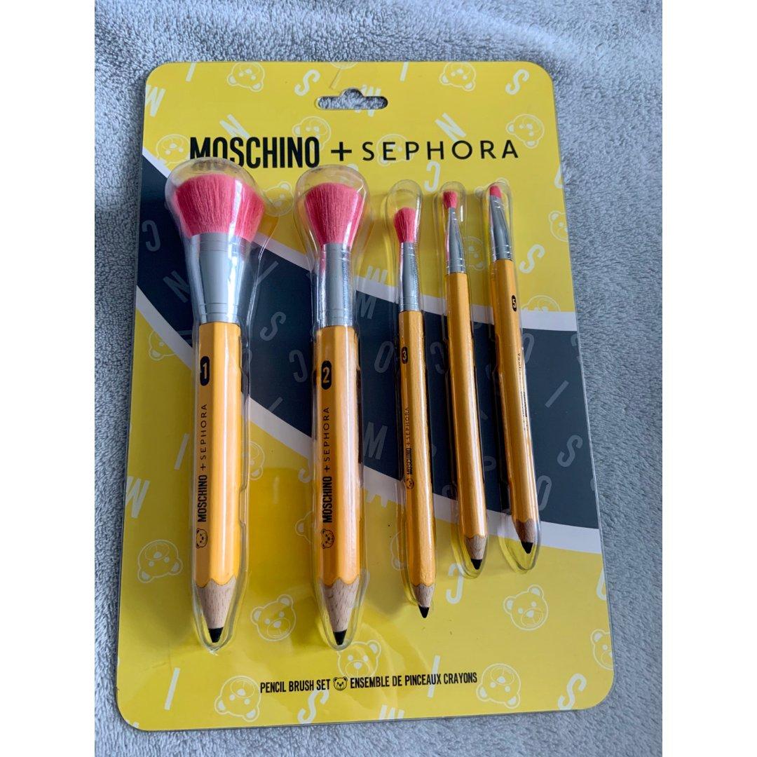 Moschino+sephora化妆刷