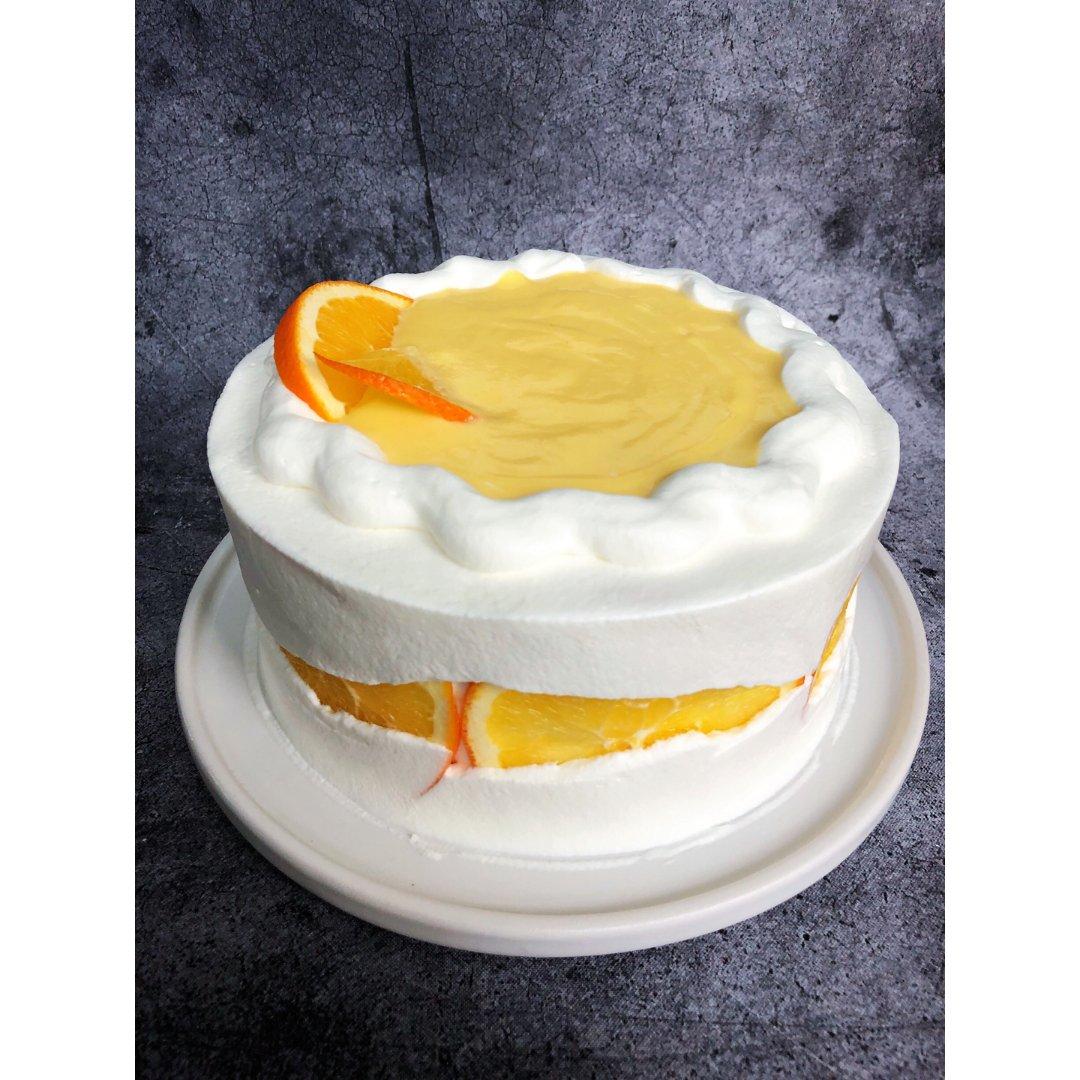 香橙断层蛋糕
