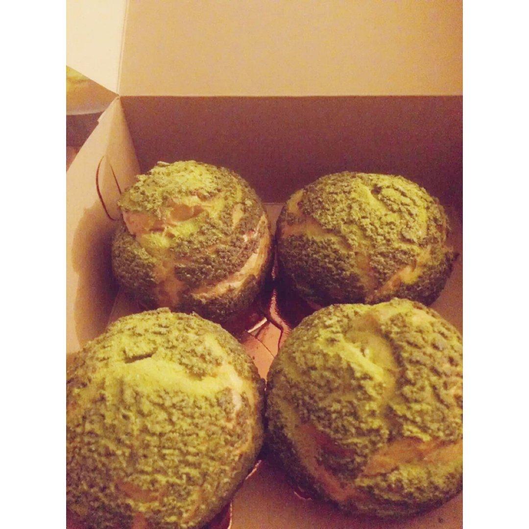 想念的味道-绿茶泡芙