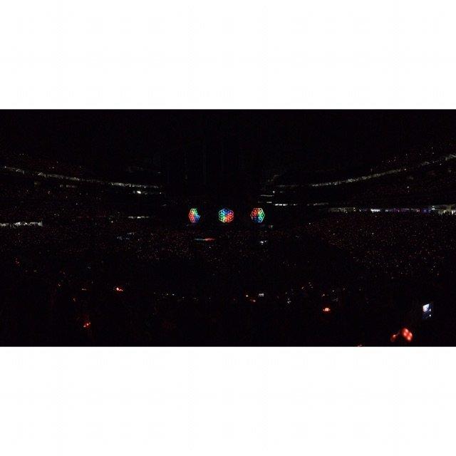 星期六去聽了Coldplay演唱會...