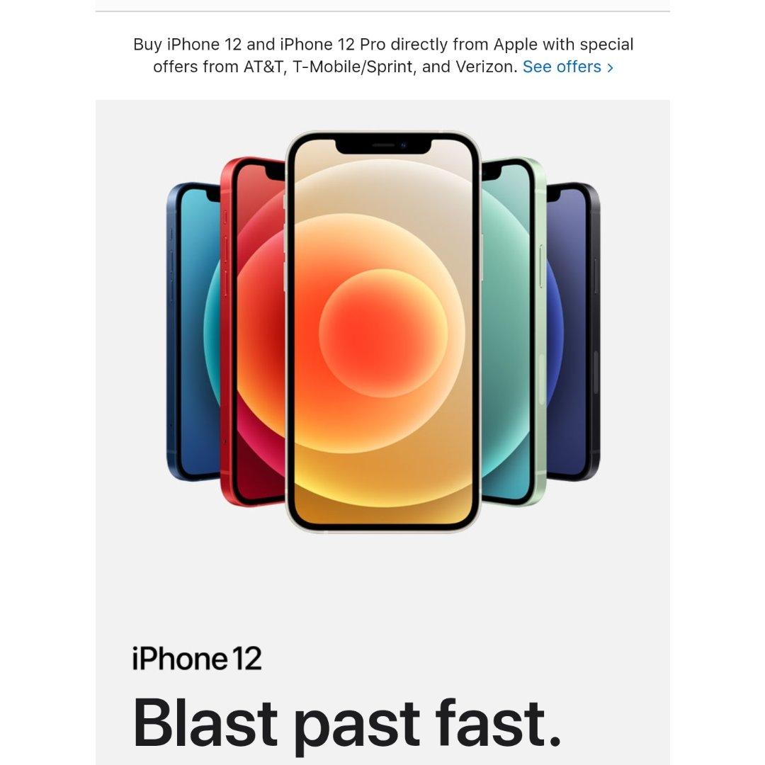大家来看看,苹果iPhone 12...