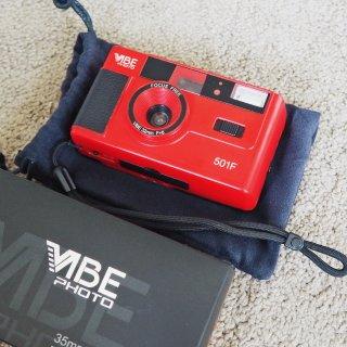 因为颜值新入手的玩具VIBE501F相机...