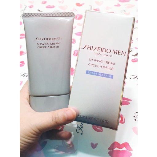 Day12/Shiseido Man剃须膏🧔男人也要精致~