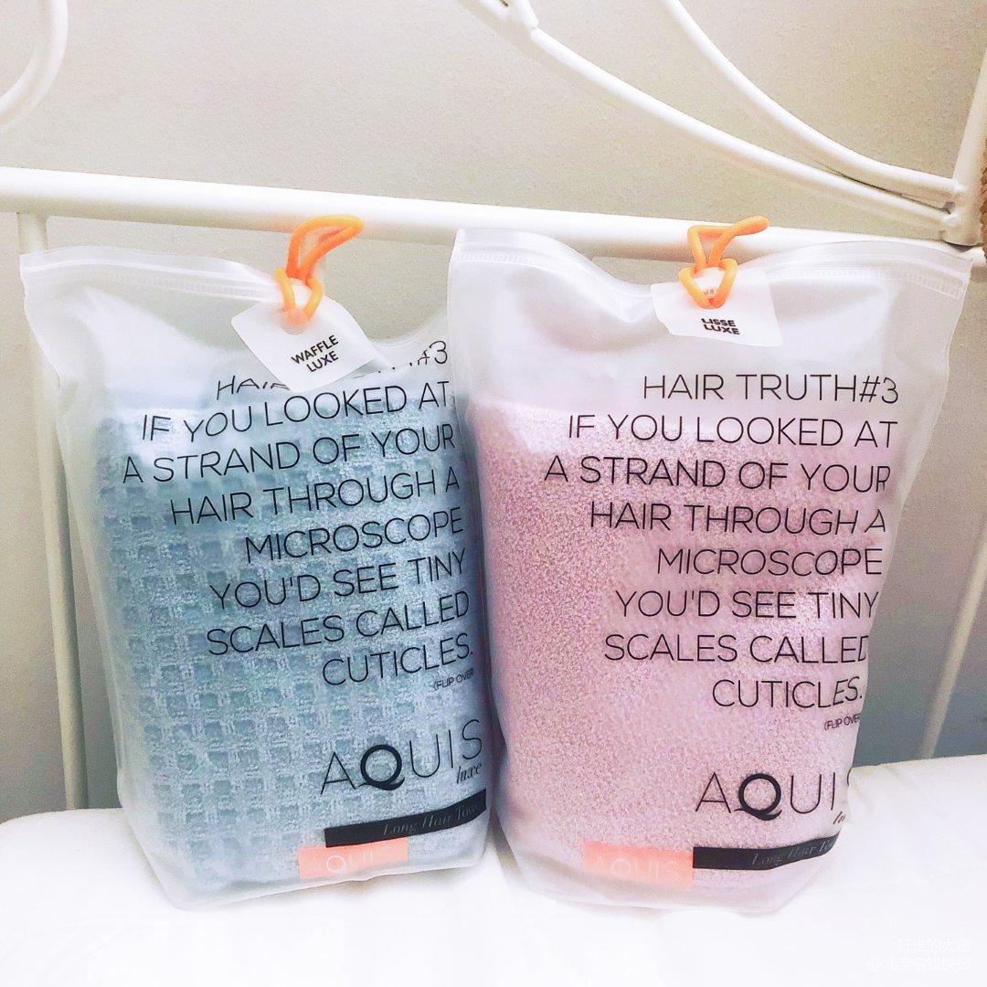长头发仙女的福音- Aquis干发毛巾