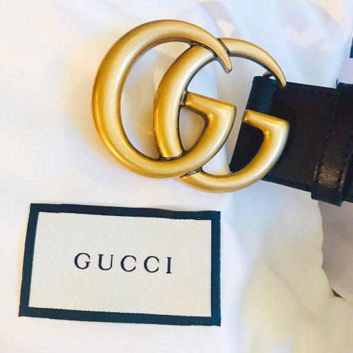 礼物分享   我也是有Gucci双G腰带的人啦✌️