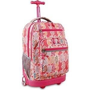 $37J World New York 儿童旅行 上学两用拉杆箱
