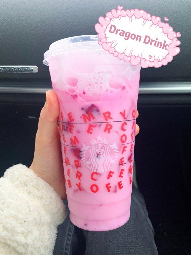 星巴克Dragon Drink|内...
