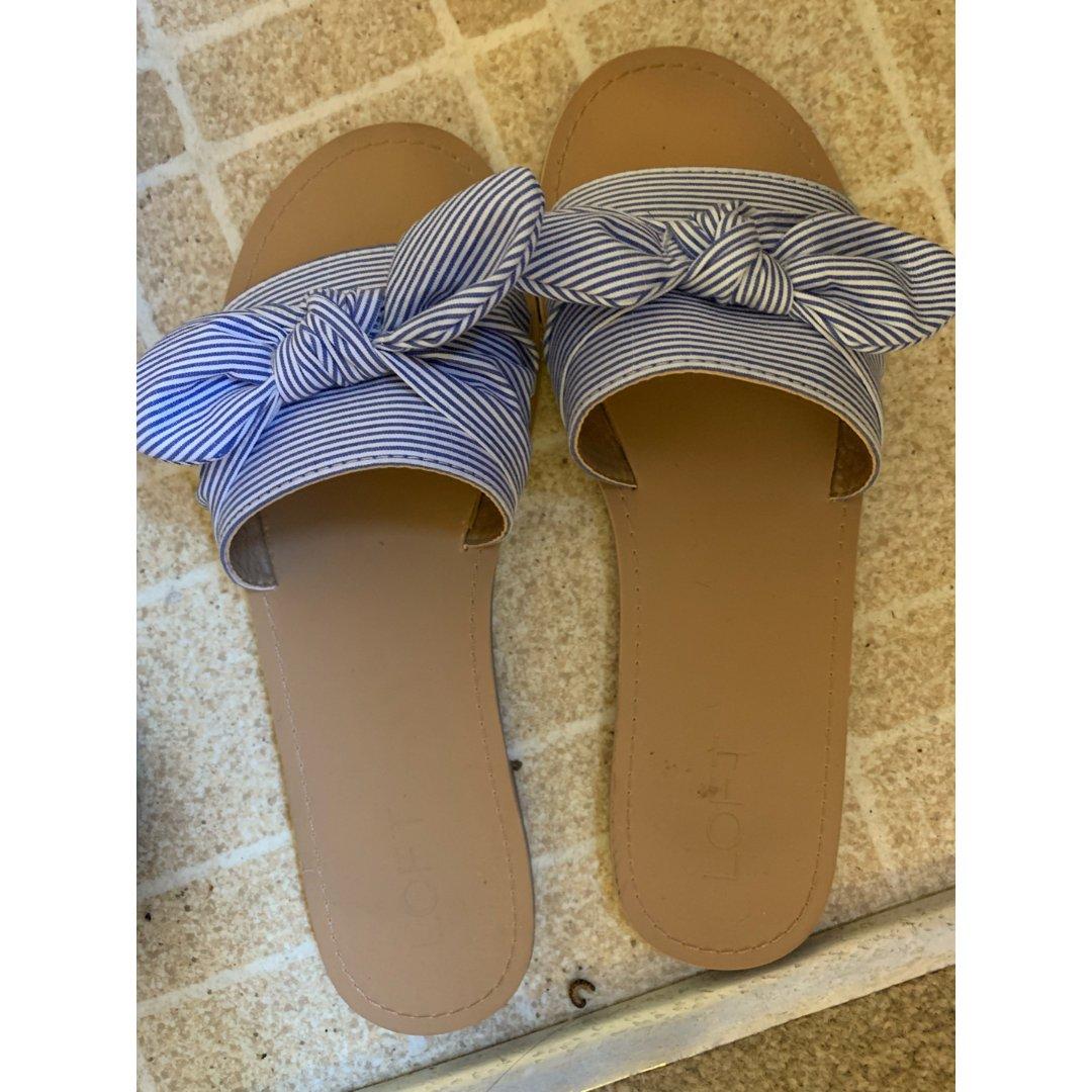 Loft蓝色sandal