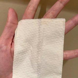 第一次看到那麼乾的卸妝巾