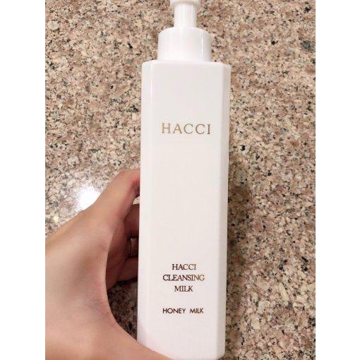 【Hacci蜂蜜卸妆乳】—最温和的卸妆产品