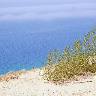 北密露营车旅行|睡熊🐻沙丘国家湖岸风景区...
