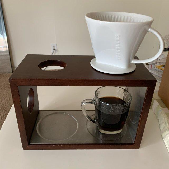 鼠12 星巴克咖啡drip和pou...
