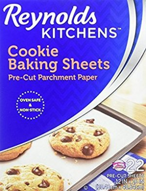 Amazon.com: Reynolds Kitchens Cookie Baking Sheets Parchment Paper (Non-Stick, 22 Sheets): Health & Personal Care