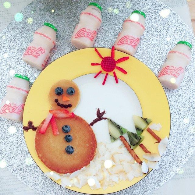 早餐☀️《snowman panc...