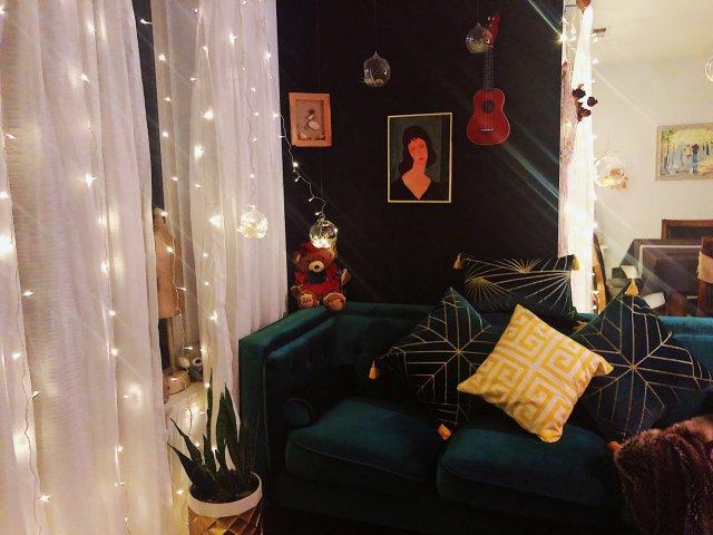 新年客厅装饰已确认|我家的bili...