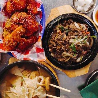 伦敦美食 皮卡迪利广场附近的超好吃韩料...