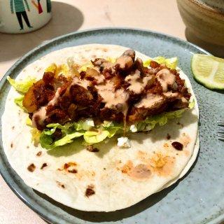 之前的墨西哥卷饼,Soft tacos
