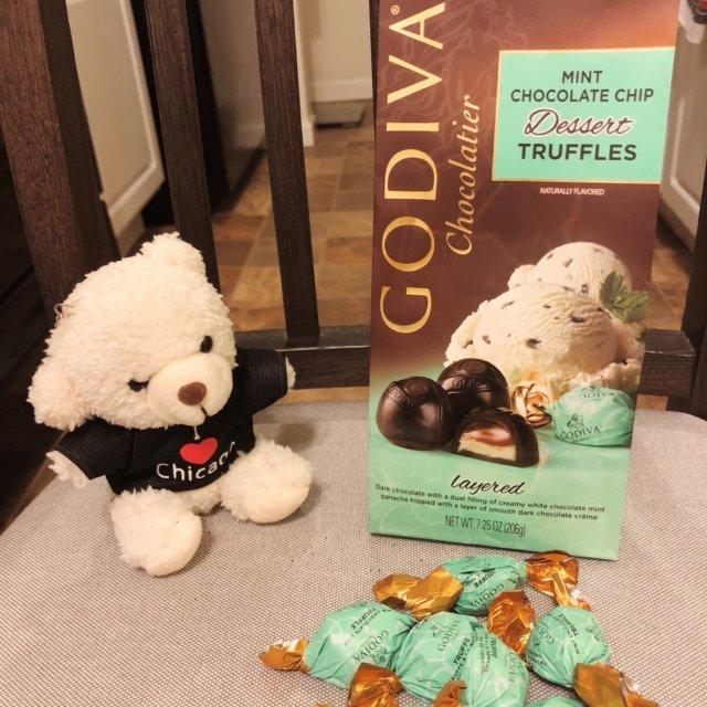 Godiva松露巧克力,享受与巧克...