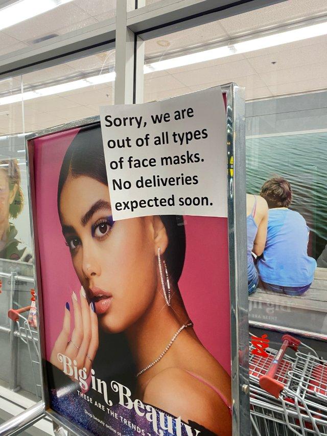 Shoppers不仅口罩卖空,竟连...