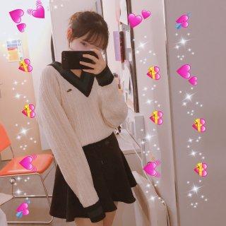 Idol姐姐同款毛衣 超可爱...