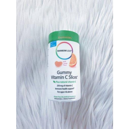 不可缺少的营养丨Rainbow Light天然维生素C软糖